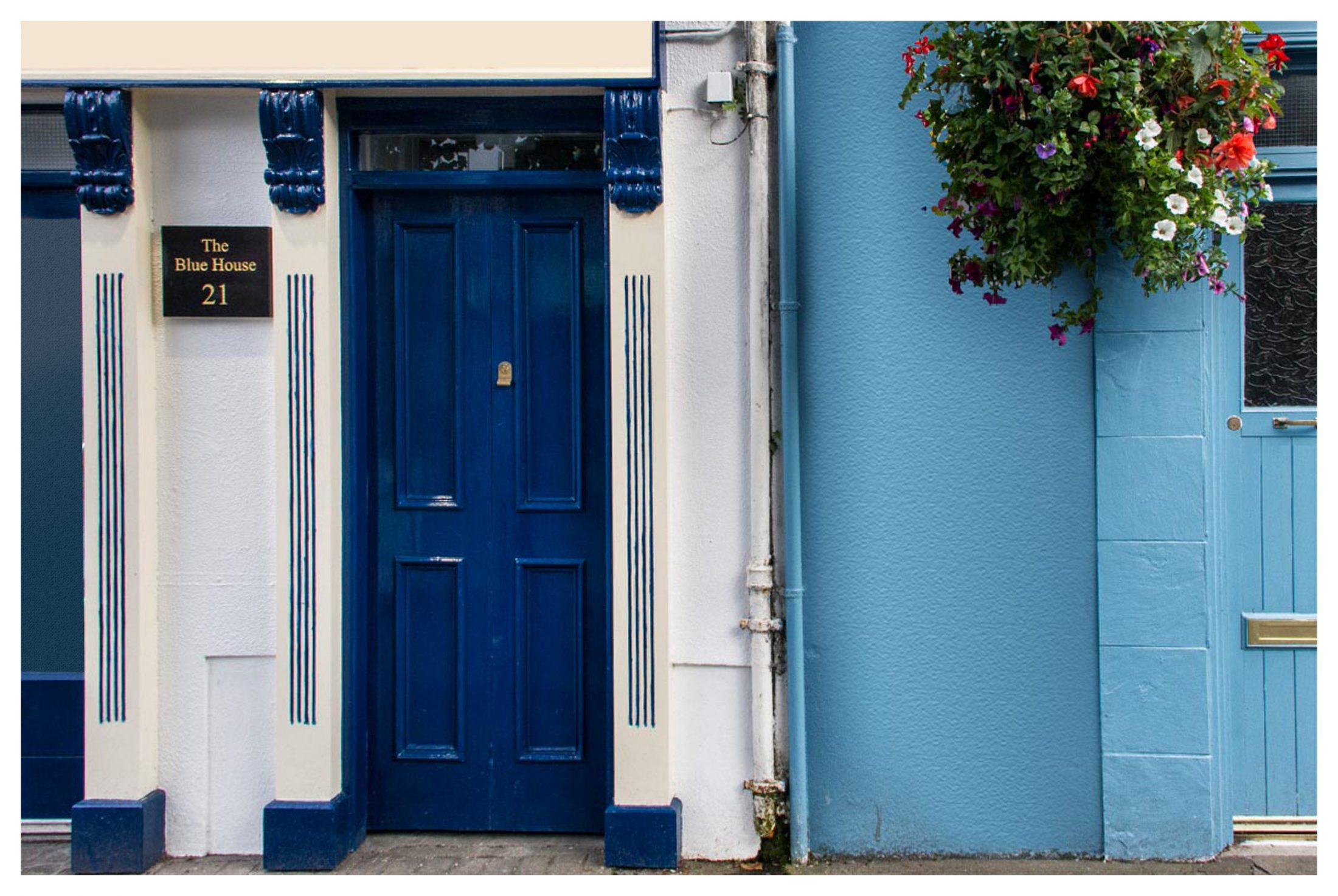 M006 The Blue House Westport